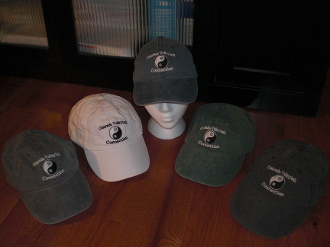 CVC Ebroidered low-profile baseball caps