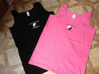 Women's Cotton Tank Tops  with CVC logo  - sizes S-XXL